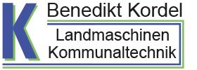 Logo Benedikt Kordel Landmaschinen Kommunaltechnik