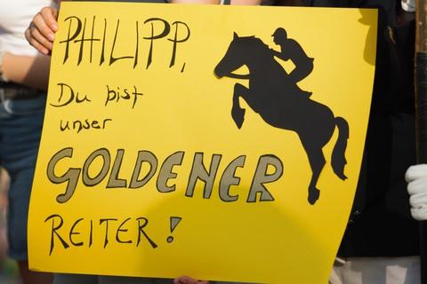 Goldenes Reitabzeichen für Philipp Hartmann